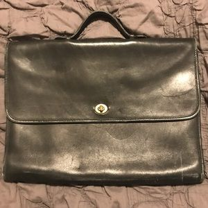 Coach Briefcase- Lightly Used Excellent Condition!